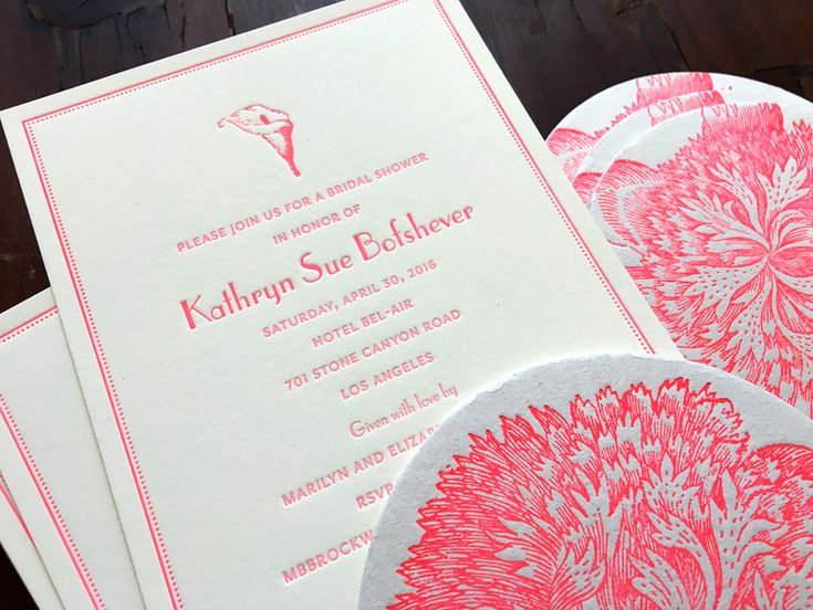 101 Best Custom Letterpress Printing Images On Pinterest