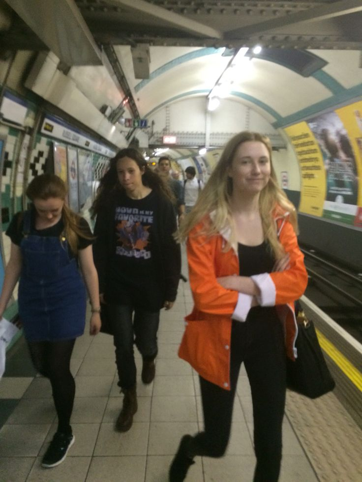 Down in the Tube Station
