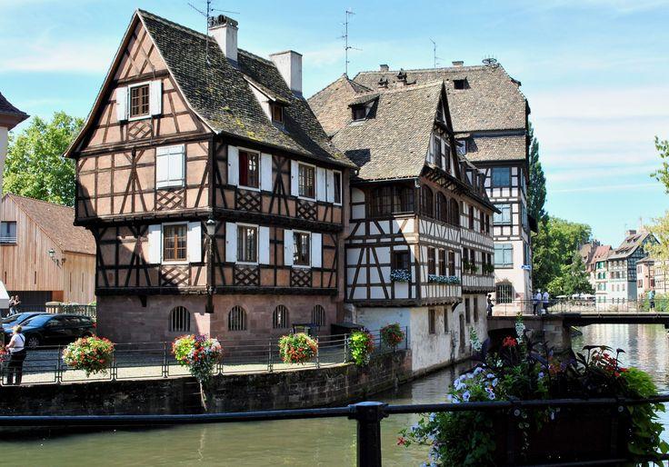 Маленькая Франция. Страсбург. Франция http://ohfrance.ru/strasburg-0