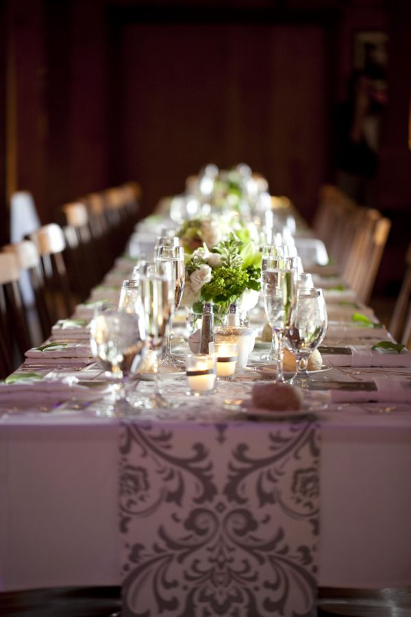 Ch&agne-Damask-Table-Runner & 95 best Damask Table Runners images on Pinterest | Black and white ...