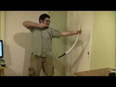 how to make a longbow youtube