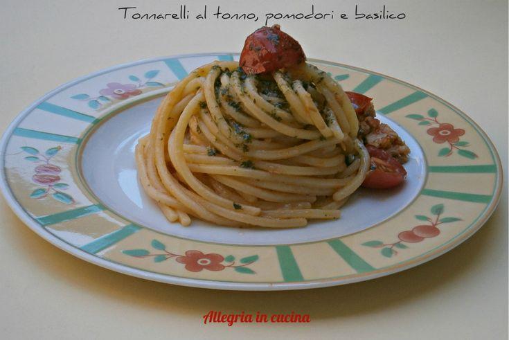 TONNARELLI AL TONNO E POMODORI PICCADILLY http://blog.giallozafferano.it/allegriaincucina/tonnarelli-al-tonno-e-pomodori-piccadilly/