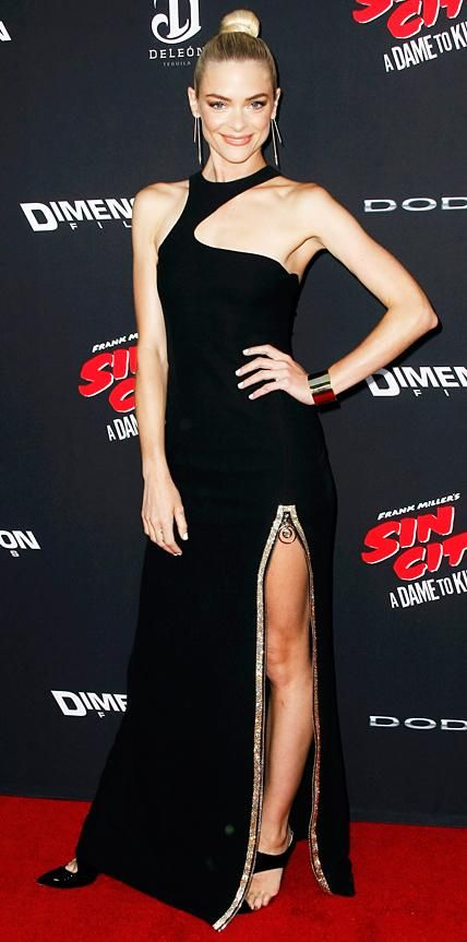 Look of the Day - August 20, 2014 - Jaime King in Versace from #InStyle