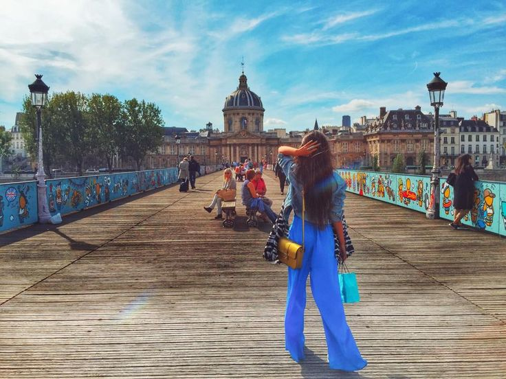 """This picture was taken in Paris, on Pont des Arts, in front of Institut de France - the so called """"Protector of Arts, Literature and Science"""". This building was actually a former school, the Collège des Quatre-Nations, but since 1795 houses five academies: Académie française, Académie des Inscriptions et Belles-lettres, Académie des Sciences, Académie des Beaux-arts and Académie des Sciences Morales et Politiques."""