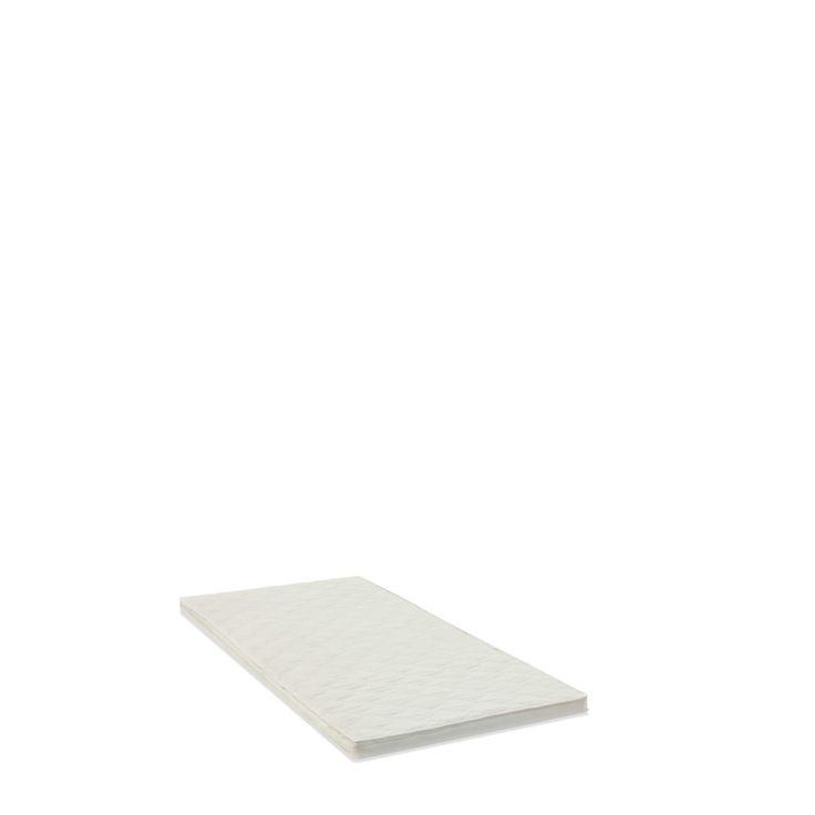 Newline Matratzen-Topper Belluno 100 x 200 cm Weiß Stoff