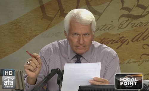 Bryan Fischer Says Government is Meant to be a Minister of God