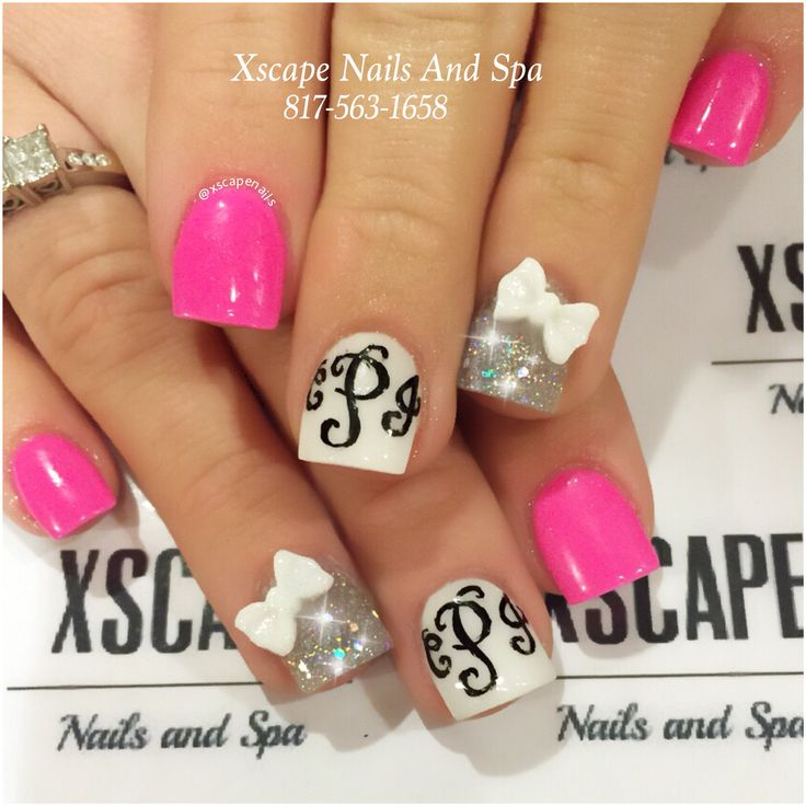 Best 25 monogram nails ideas on pinterest pretty nails spring best 25 monogram nails ideas on pinterest pretty nails spring nails and nails design prinsesfo Gallery