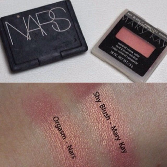 Shy Blush - Mary Kay vs Orgasm - Nars Contact me to try these product at http://www.marykay.com/kelseycate