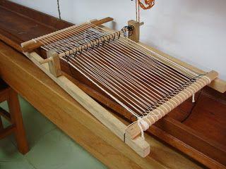 simple loom - weaving