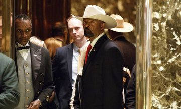 This guy sounds like he cares more about politics than doing his job! He should fit in with trump perfectly! 4 People, Including A Baby, Have Died In A Jail Run By Potential Trump Nominee Sheriff David Clarke | The Huffington Post