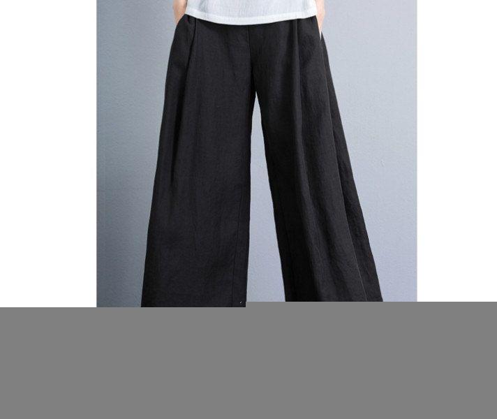 best 25+ black linen pants ideas on pinterest | black pants, black