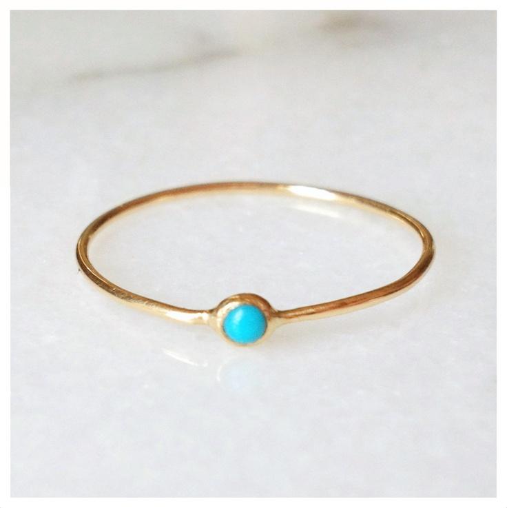 Turquoise Pip Ring