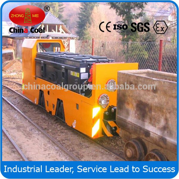 China coal group underground trolley electric mining locomotive, made in China trolley locomotive