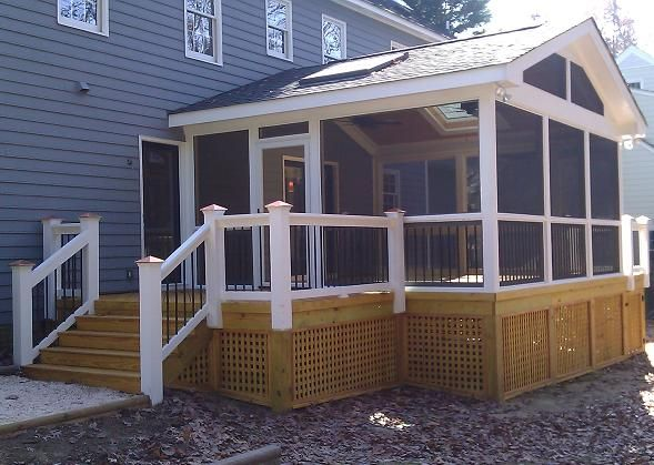 18 best images about roof addons on pinterest skylights for Gable screened porch