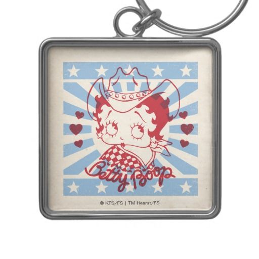 iBoop Country Square with Red Outline. Regalos, Gifts. #llavero #KeyChain