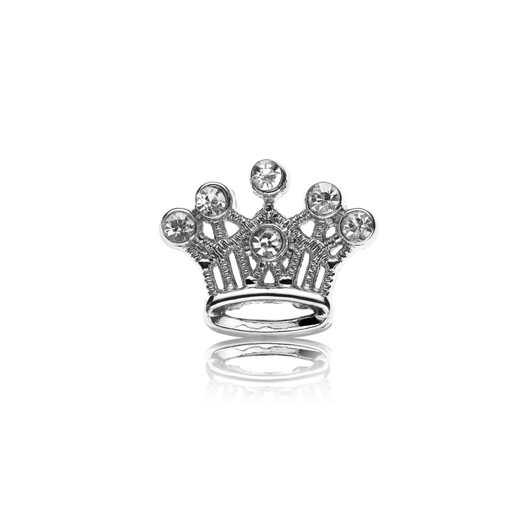 Emperor Crown Dog Charm