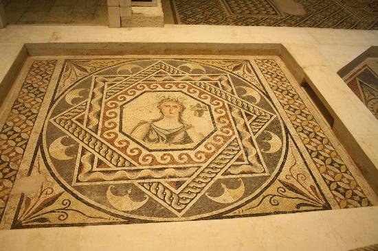 Zeugma mosaic of Gaia, the earth mother