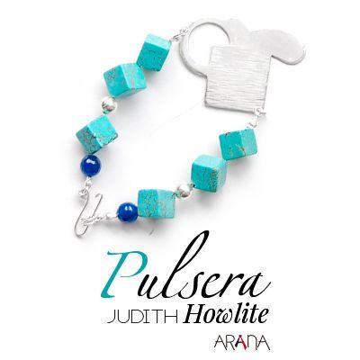 Pulsera Judith Howlite
