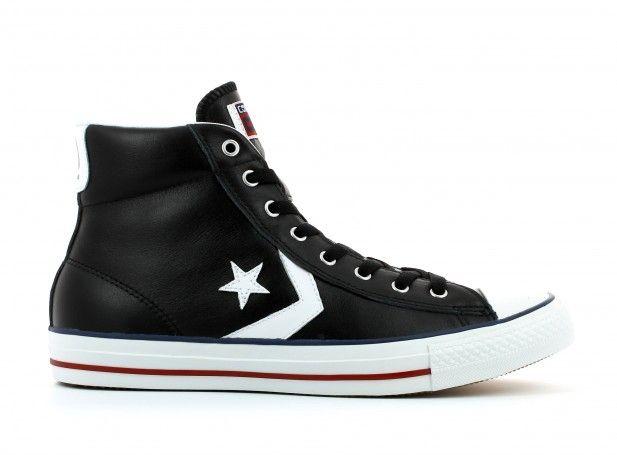 Chuck Taylor Cuir Botte Wp De Salut - Chaussures De Sport Pour femmes / Converse Noir KSL5vysn