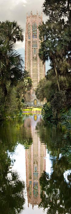 Title  Singing Tower In Bok Tower Gardens  Artist  Penny Lisowski  Medium  Photograph - Color Photographs