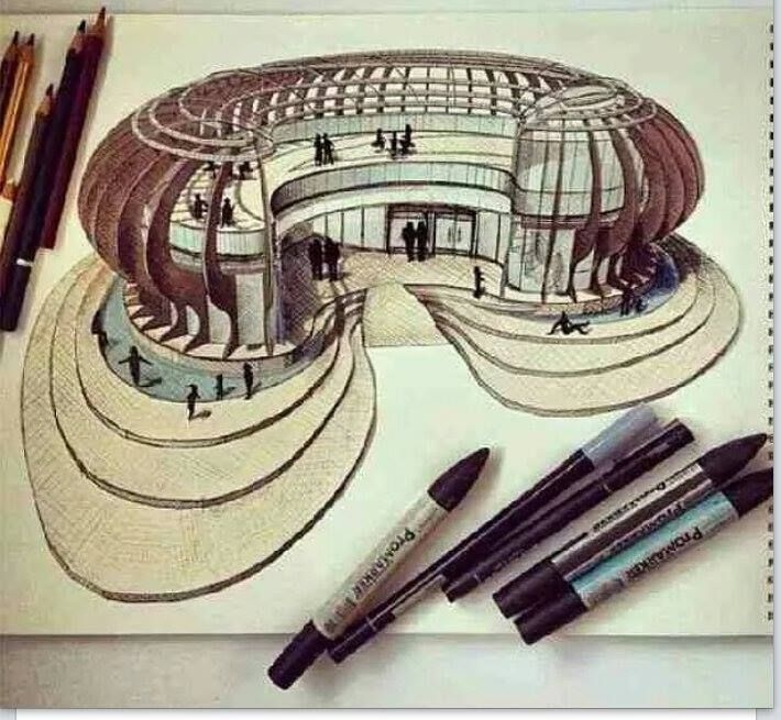 Cool Architecture Drawing 107 best sketch images on pinterest | sketching, sketch and