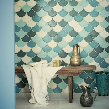 Moroccan bathroom tiles
