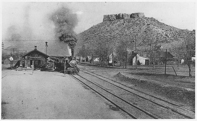 Castle rock. 1900 I wasn't there lol but very cool
