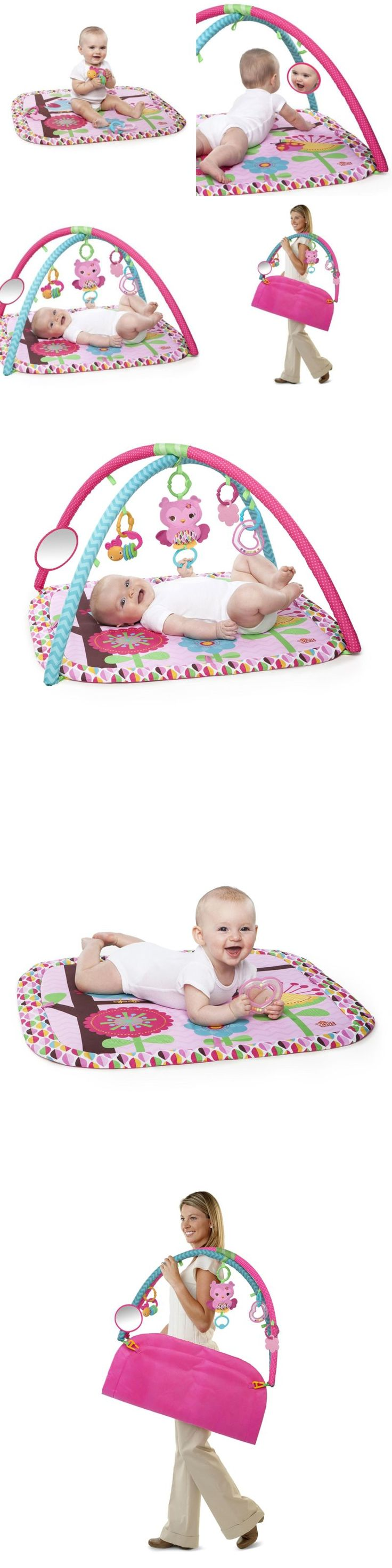Baby Gyms and Play Mats 19069: Infant Play Mat Activity Gym For Baby Girl With Mobile Hanging Toys Game Center -> BUY IT NOW ONLY: $36.77 on eBay!