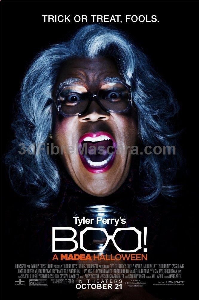 Boo! A Madea Halloween (2016) Film Poster #dogwalking #dogs #animals #outside #pets #petgifts #ilovemydog #loveanimals #petshop #dogsitter #beast #puppies #puppy #walkthedog #dogbirthday #pettoys #dogtoy #doglead #dogphotos #animalcare