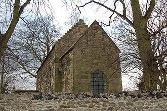 A restored 7th century Anglo Saxon Church