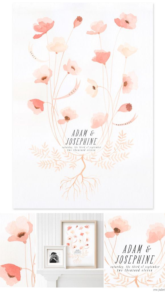 A beautiful wedding invitation design