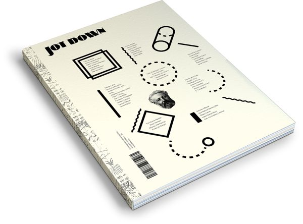 Jot Down nº3, Contemporary Culture Mag by relajaelcoco , via Behance