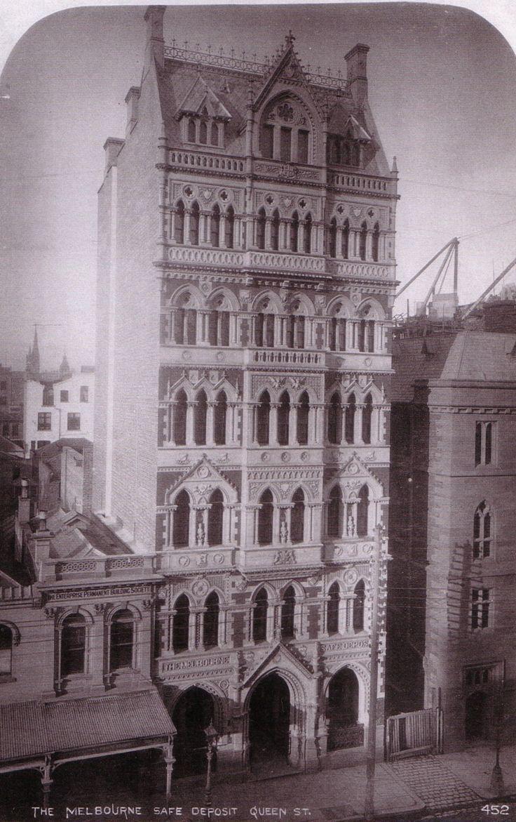 Melbourne Safe Deposit Building, Completed 1890, Still Stands!