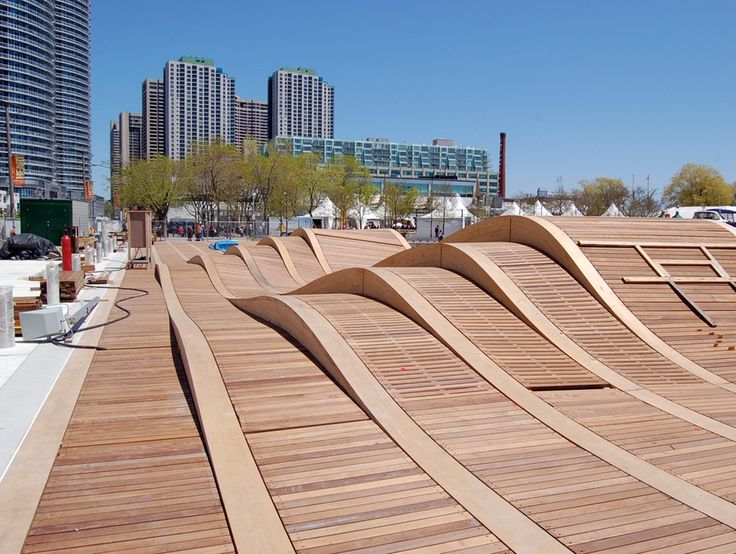 The Simcoe WaveDeck at Toronto's Harbor