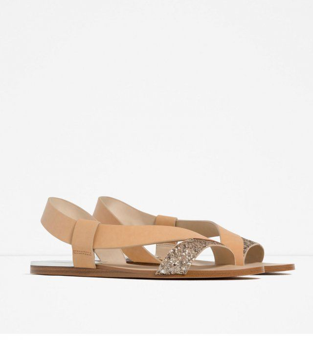 Des+chaussures+de+mariée+plates+Zara,+19,95€