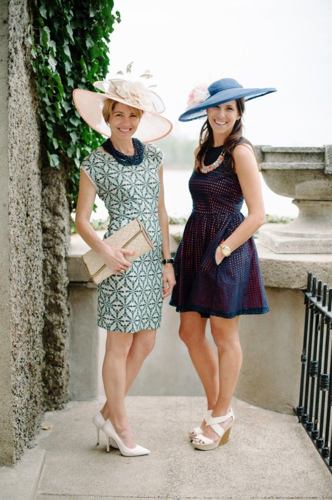 Adventures in Dressmaking: Classy Kentucky Derby dress, hat, and party ideas   Love all the dresses in this post!!