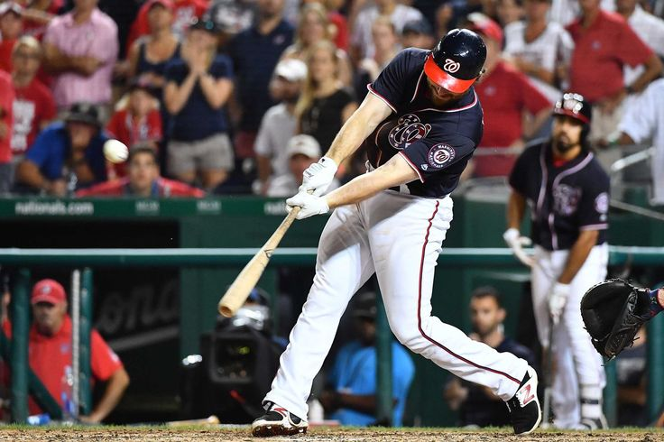 Daniel Murphy's walk-off single completes Nationals' 5-4 comeback win over Braves...      The Nationals rally late to beat the Atlanta Braves   -  July 7, 2017