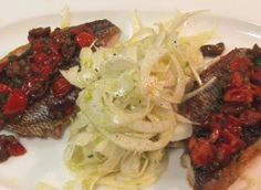 Recipe of the Week: Seabream With Tomatoes, Olives and a Fennel Salad|Theo Randall