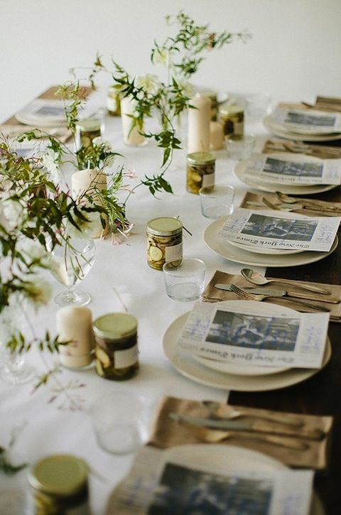 Inspiration: Thanksgiving Tablescapes | lark&linen