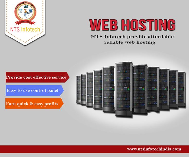 NTS Infotech provide Cost Effective affordable and reliable web hosting. For more information visit-www.ntsinfotechindia.com