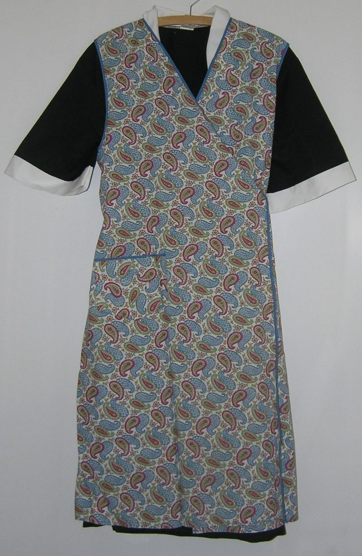 Old School Pattern And Cut To This Pinny Apron Aprons