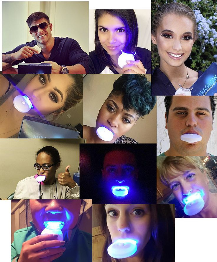 The 30-Minute Teeth Whitening Sensation Putting Celebrity Dentists Out Of A Job - AuraGlow