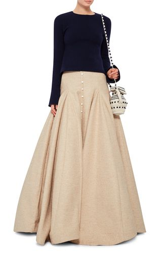 Armada Skirt by ROSIE ASSOULIN Now Available on Moda Operandi
