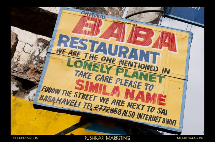 A new Marketing strategy.  #restaurant  #India.