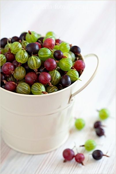 Gooseberries-- my grandmother used to make a yummy gooseberry pie. :)