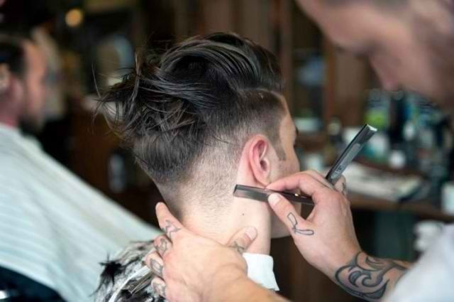 how to give yourself a fade with a razor