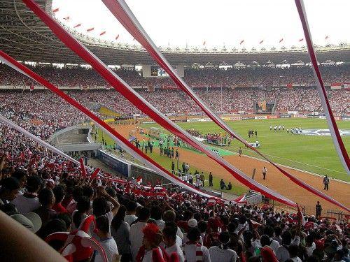 Gelora Bung Karno Stadium, Jakarta, Indonesia – 88,083 - Soccer / football