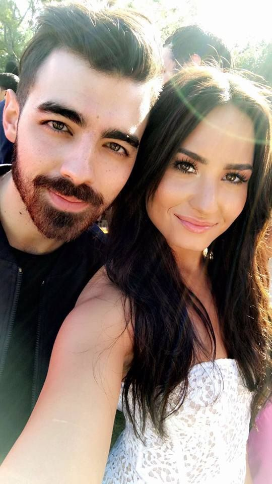Joe Jonas and Demi Lovato 2017