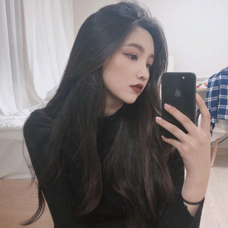ulzzang #ulzzanggirl #koreangirl ~pinterest:kimgabson - #coreana  #koreangirl #pinterestkimgabson #Ulzzang #u… | Ulzzang hair, Ulzzang korean  girl, Korean hairstyle