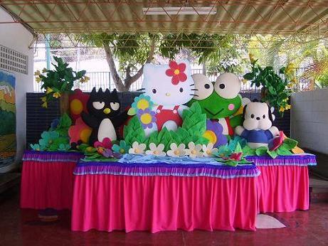 Muy Ameno: Fiestas Infantiles, Decoración Hello Kitty